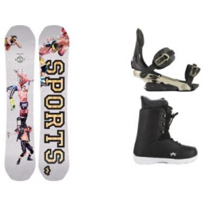 Image of Rome Artifact Rocker Snowboard w/ Arsenal Bindings & Smith SE Boots