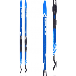 Image of Fischer Fibre Crown EF XC Skis w/ IFP Classic Bindings