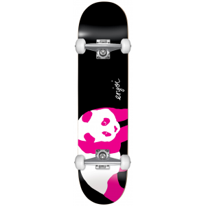 Image of Enjoi Black Pink Panda Skateboard Complete