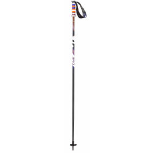 Salomon Brigade Ski Poles Black/Orange