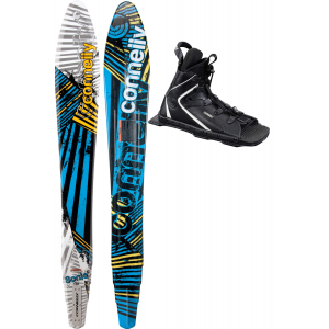 Connelly Sonic Slalom Waterski 65 w NovaAdj Rtp Bindings