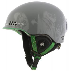 K2 Rival Pro Ski Helmet Grey Pop