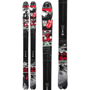 K2 Sidestash RS2 50th Anniversary Rolling Stones Skis