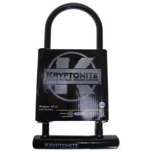 Kryptonite Keeper Long Shackle U Lock Bike Lock 4x11.5""