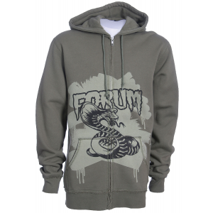 Forum Youngblood Full Zip Custom Hoodie