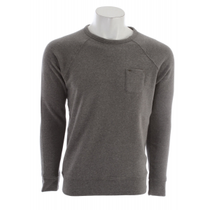 Obey Lofty Creature Comforts Crew Sweatshirt Heather Grey