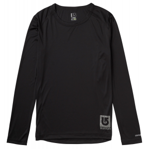 Burton Lightweight Crew Baselayer Top True Black