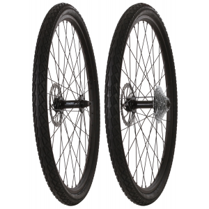 Image of Framed Fattie Slims/Slicks F135/R170 9 Speed Wheel Set