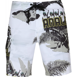 Analog Aloha Army 20 Boardshorts