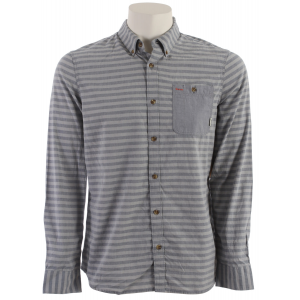 Vans Rusden Stripe Shirt Frost Grey