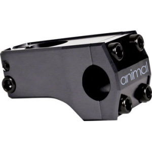 Animal MR Front Load BMX Bike Stem Black 48mm