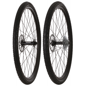 Image of Framed Fattie Slims/Slicks F150/R170 10 Speed Wheel Set