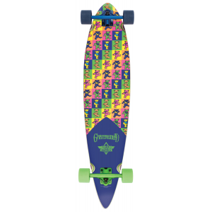 Dusters Grateful Dead Bears Longboard Complete