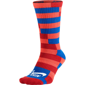 Nike Striped Dri Fit Skate Crew Socks