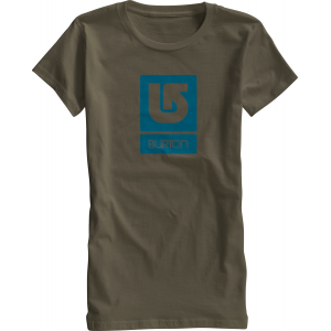 Burton Logo Vertical Fill T Shirt