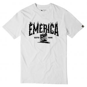 Emerica Gas Can Flame Logo T Shirt