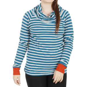 Toad & Co Stripe Out Boat Twist Shirt Moroccan Blue Stripe/Cayanne