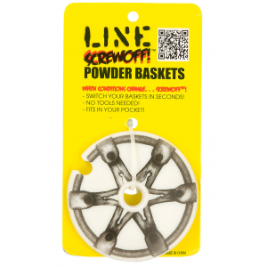 Line Screwoff Powder Ski Pole Basket 1 Pair