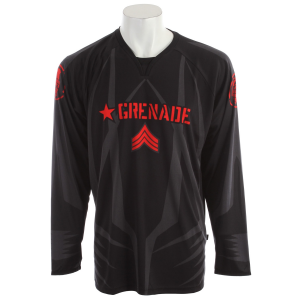 Image of Grenade Bulletproof BMX Jersey Red