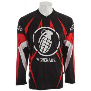 Image of Grenade Macadam BMX Jersey Red