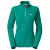 The North Face Glacier 1/4 Zip Fleece Fanfare Green