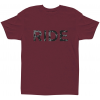 Ride Smoke Print T-shirt