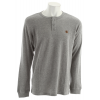 Dc Yield Henley Heather Grey