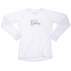 Dakine Midweight Vented Upland V-neck First Layer Top White