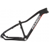 Alaskan Carbon Fat Bike Frame Black/red