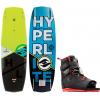 Hyperlite Baseline Wakeboard w/ Focus Bindings