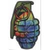 Grenade Patterns Sticker