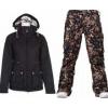 Burton TWC Puffy Jacket True Black w/ Burton Lucky Pants