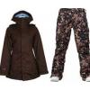 Burton TWC Weekend Jacket Mocha w/ Burton Lucky Pants