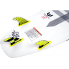 Hyperlite Carbon Surf Fin Set w/ Key