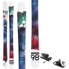 Fischer Big Stix 98 Skis w/ Look NX 12 Dual WTR Bindings