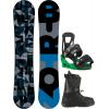 Burton Clash Wide Snowboard w/ Moto LTD Boots & Freestyle Re:Flex Bindings