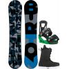 Burton Clash Snowboard w/ Transfer Boots & Freestyle Re:Flex Bindings