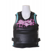 Gator Boards Gb Argyle-icious Pullover Comp Wakeboard Vest Black/pink