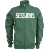 Sessions Silver Medalist Track Jacket Kelly Green