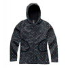 Burton North Star Fleece Jacket Black Polka Squares
