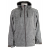 Quiksilver Hoody Softshell Jacket Heather Grey