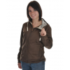 Rome Accolade Bonded Fleece Jacket Brown