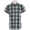 Obey Burleigh Shirt Beach Glass/navy