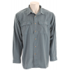 White Sierra High Ridge Loop L/s Shirt Bluestone