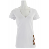 Foursquare Pixel V Neck T-shirt