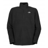 The North Face Tka 100 Microvelour Glacier 1/4 Zip Jacket Tnf Black