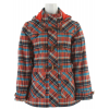 Merrell Aubrey Plaid Jacket Persimmon Plaid