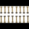 Odyssey JC/PC Short 16 Pin & Nut Set 18mm
