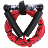 Straight Line Wakesurf Combo Handle Red