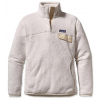 Patagonia Re-tool Snap-t Pullover Fleece Raw Linen/white Xdye